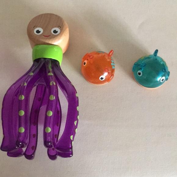 3/$10 Octopus/2 fish